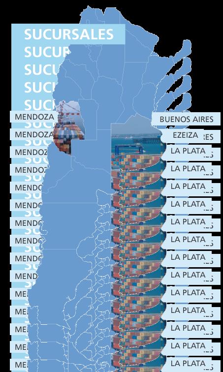 mapa de nuestras sucursales